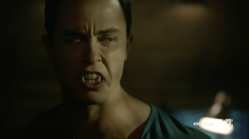 Teen_Wolf_Season_5_Episode_14_The_Sword_and_the_Spirit_Parrish's_eyes_and_fangs